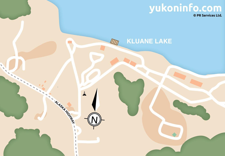 Burwash-Landing-Map
