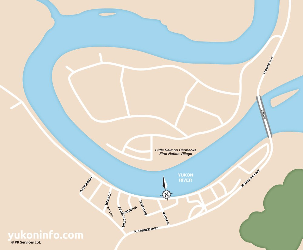 Carmacks-Map