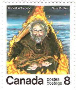 Service was honoured with a Canadian postage stamp in 1976.