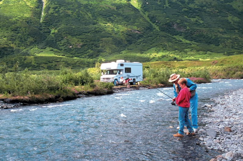 Rving in alaska the ultimate road trip yukon territory for Best fishing in alaska