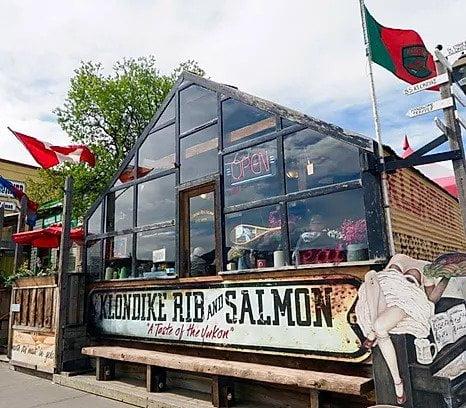 Klondike Rib And Salmon BBQ