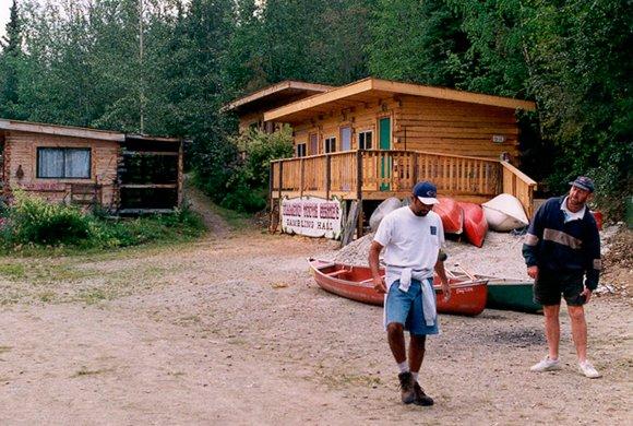 Dawson City River Hostel/Tenting