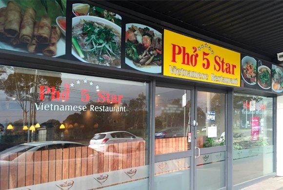 Pho 5 Star Restaurant Chez Noodle
