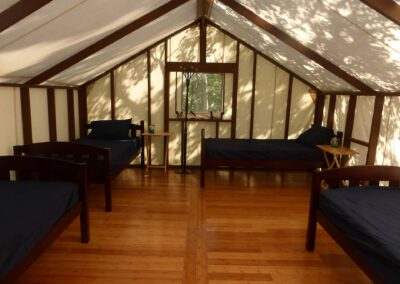 Haines Junction Wall Tent Accommodations