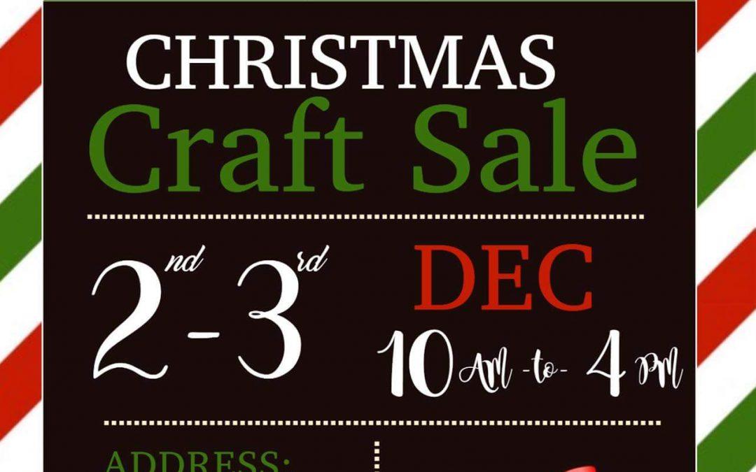 Porter Creek Secondary Craft Sale