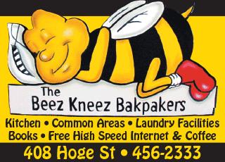 The Beez Kneez Bakpakers