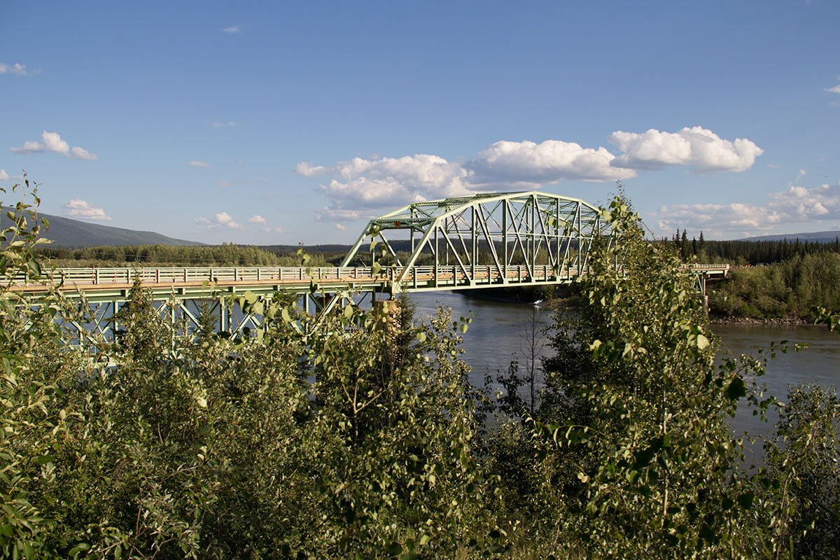 Pelly River bridge