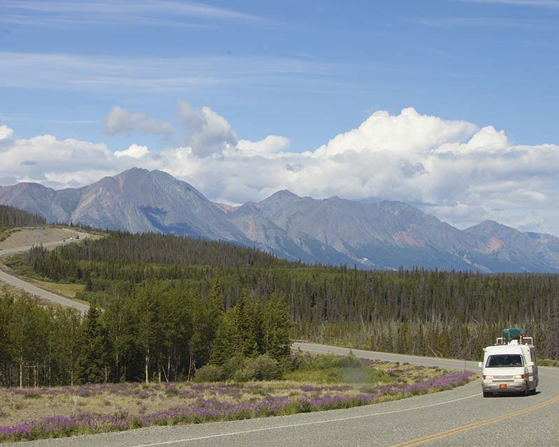 Alaska Highway Kluane National Park