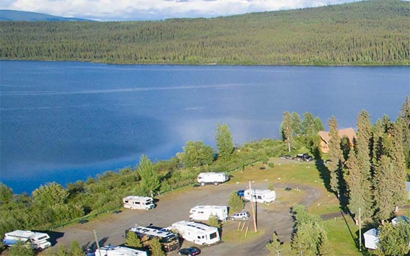 Yukon RV Parks and RV Parks along the Alaska Highway