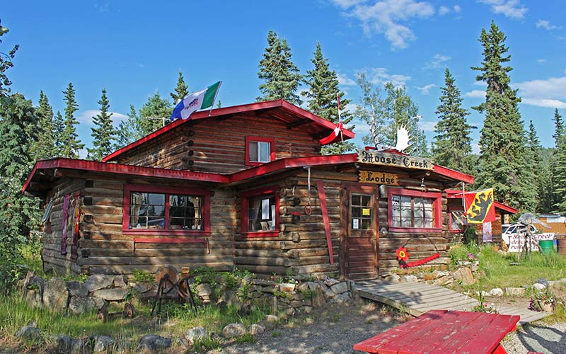 Alaska Highway Lodge Lodges and Yukon Lodges