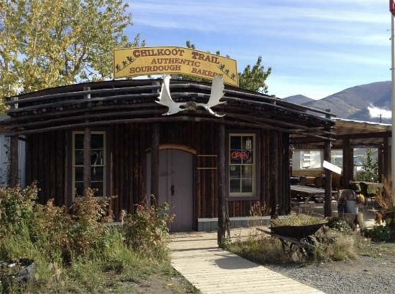 Chilkoot Bakery, Carcross Yukon