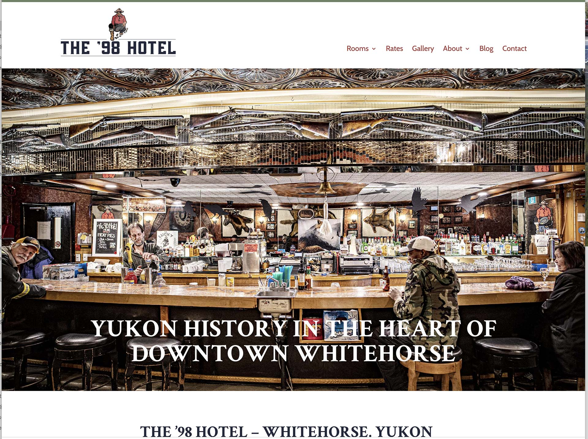 Whitehorse Hotel Web Site