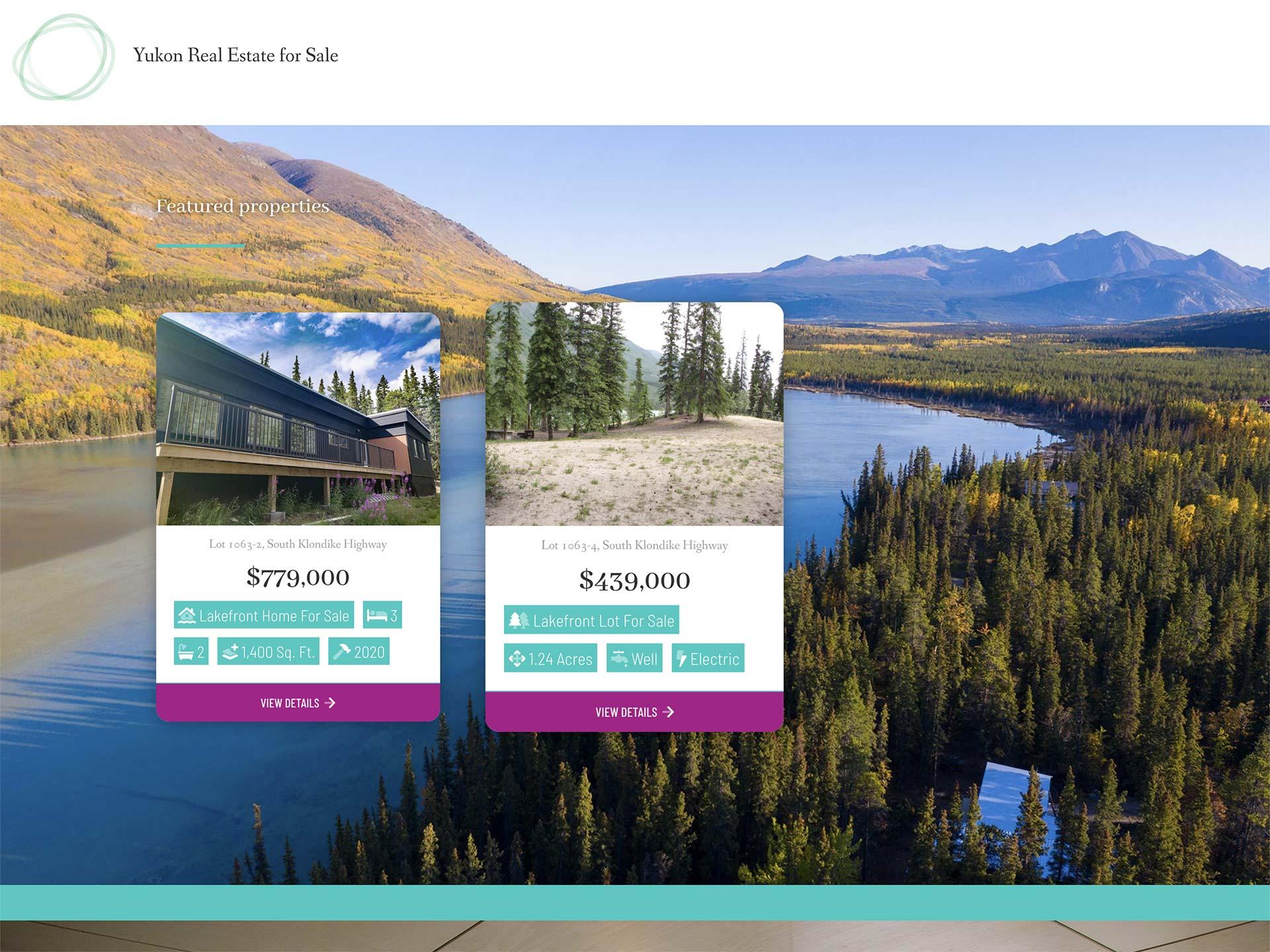 Whitehorse Web Design - A Real Estate web site customer