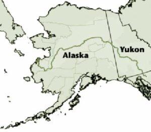 Yukon River Map