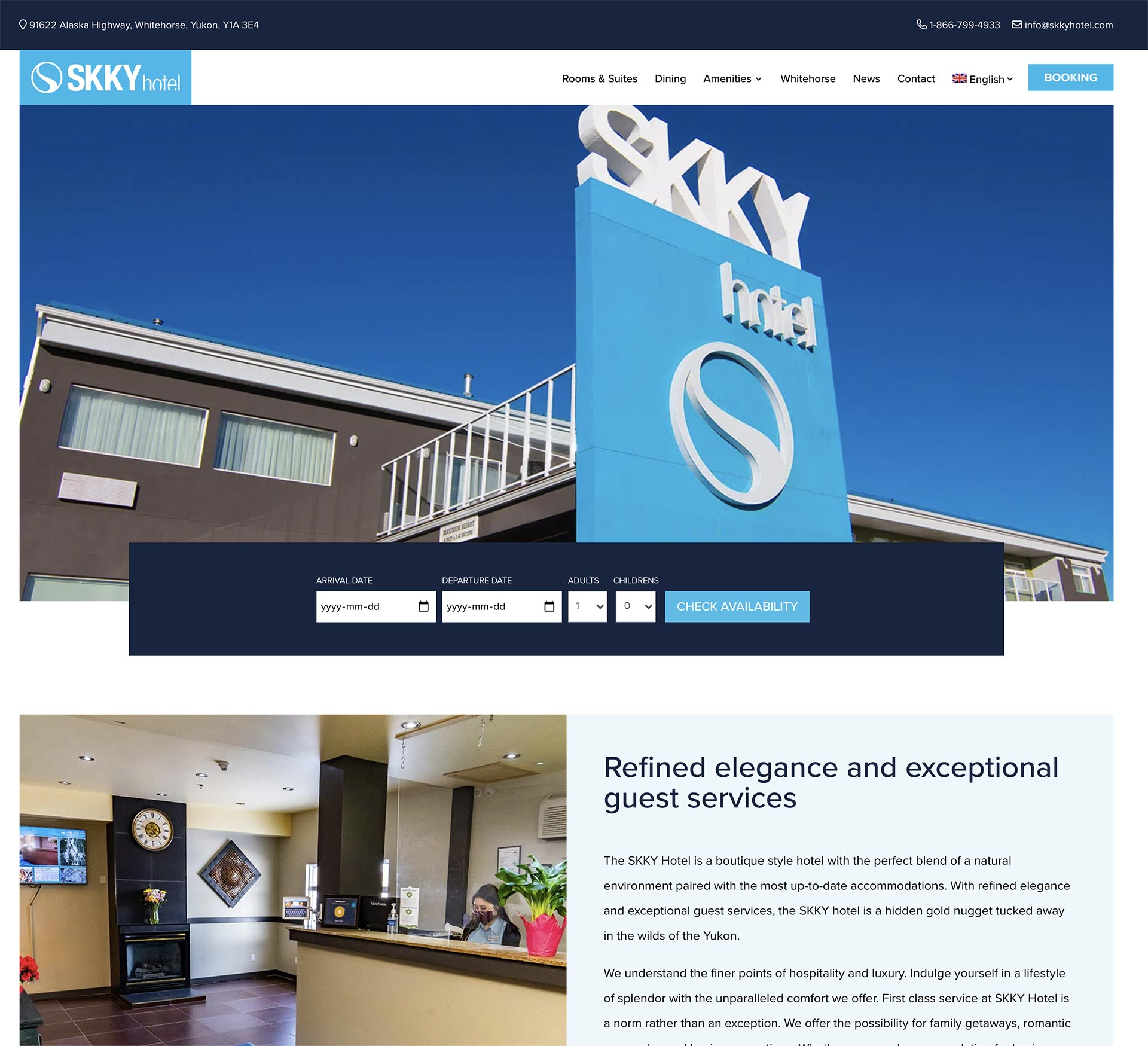 Custom Web Site Developed by Whitehorse Design Firm PR Services